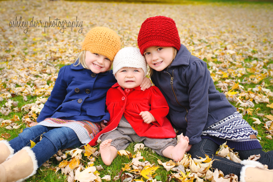 glenshaw children photography three sisters pose