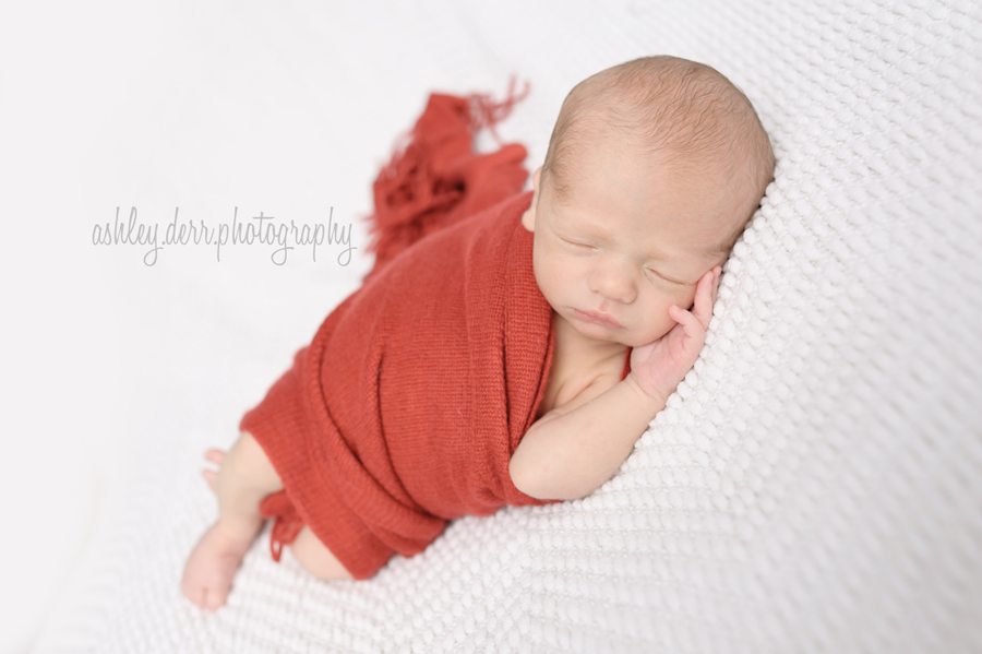 newborn boy studio light photographer pittsburgh