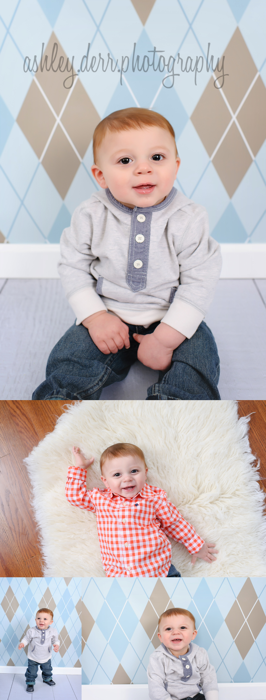 Pittsburgh best first birthday baby photographer