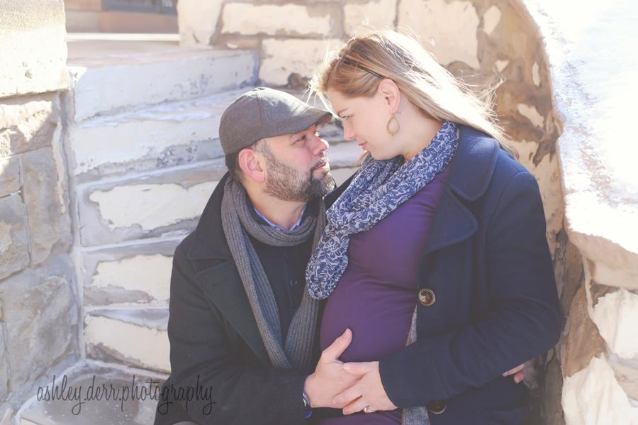 Mount Washington Pittsburgh PA pregnancy photographer