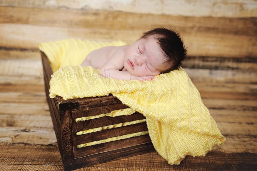 Lawrenceville pittsburgh baby girl spring newborn photography session