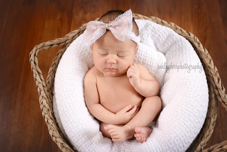 Pine Richland Gibsonia newborn baby photographer mini session