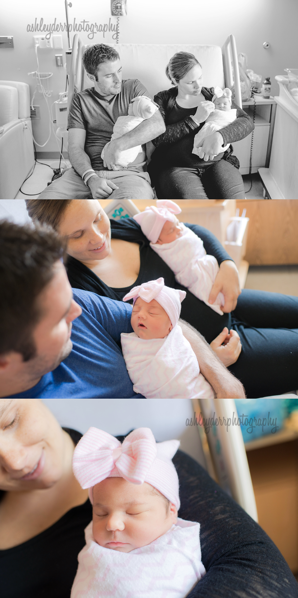hospital newborn photographer pittsburgh twin girls
