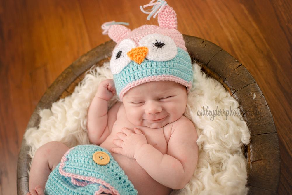 glenshaw pa shaler newborn girl photographer pittsburgh