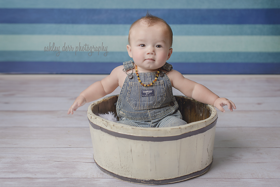 six month baby boy photography in pittsburgh western pa